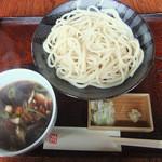 天王前 友季亭 - 料理写真:肉汁うどん