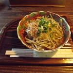 坪川家 千古の家 - 料理写真:「そば膳」1,000円の「おろしそば」