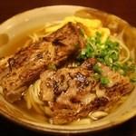 麺道 くろとん - 料理写真:炙りソーキそば