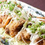 料理屋K - 料理写真:知床鶏唐揚げ おろしポン酢かけ