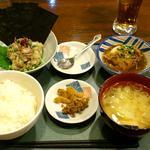 19117433 - 魚まる 志村店 あじなめろう定食 780円