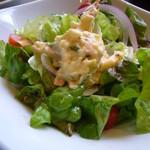ブールブリッコ - サラダ