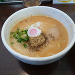 19118833 - 味噌つけ麺(つけ汁)