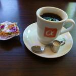 アルファミラン - ブレンドコーヒーとオツマミ
