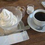 カフェ ロワン - おいしいと評判のソフトクリーム
