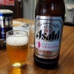 食堂なまえ - ビールにも八重の桜が・・・