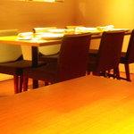 リストランテ レーネア - 6人のテーブル席