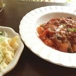 洋食レストランメルサ - 子羊のもも肉 トマト煮込み