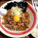竹本商店 in EZO - 油そば小(200g)_690円と追い飯