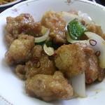 19128412 - 鶏の唐揚げ辛し炒め