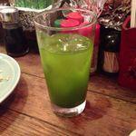 ろばた焼 玉秩父 - 緑茶割り