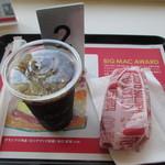 マクドナルド - 2013.05.25 ホットドッグセット ハッシュドポテトは後からきました。390円!