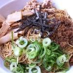 博多金龍 - 油そば(メガ盛 麺3玉)_2013年5月