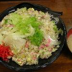伝説のすた丼屋 - レタスチャーハン
