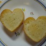 しょう's ベーカリー - 2013/05 ハートパンをトーストしました