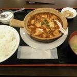 Suimantei - 麻婆豆腐ランチ