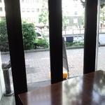 19136368 - テラス席より昭和通りを望む