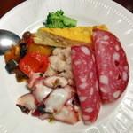 ピッツェリア クラフト - 前菜6種盛合せ1,600円
