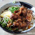 讃州讃岐屋 - 肉ぶっかけ冷2玉