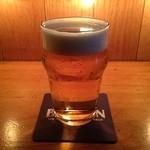 丸金 - 生ビール。