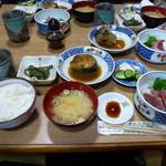 大谷寿し - 定食全容