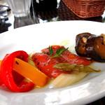 Plaza-D イタリアンレストラン - パスタセットの前菜