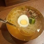 大阪焼肉・ホルモン ふたご - ハーフサイズ冷麺