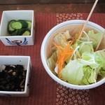 櫻守 - サラダと付け合わせ