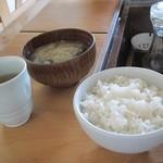 櫻守 - ごはんと味噌汁のセット