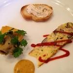 19145079 - ルコックランチの前菜☆