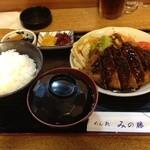 みの勝 - 味噌かつ定食