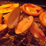 囲炉裏亭 味都 - 海鮮焼き