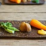 そばきり すずき - お昼の前菜