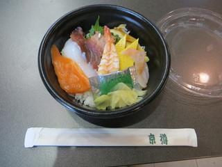 京樽 東京競馬場店 - 海鮮丼(500円)