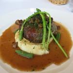 ターブル ドゥ クドウ - あちきのメイン レバーと胸肉を包んだほろほろ鶏のバロンティーヌ