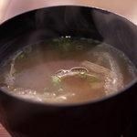 いろり家 - 味噌汁