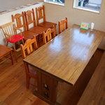 キッチン&カフェ ベル - おすすめの2階席です。ちなみに土足禁止です