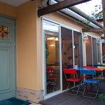 キッチン&カフェ ベル - 仲間内では一番人気でしたテラス席