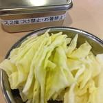 串カツ田中 - キャベツ