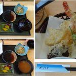 ニコ天 - 天ぷら定食 ニコ天(愛知県豊田市稲武)食彩賓館撮影