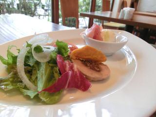 ヴァンサンク - 前菜のパテ