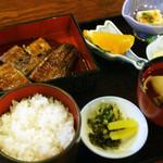 菊菱 - 上蒲焼定食 2400円
