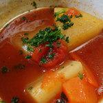 かじの葉 - とまとのスープ