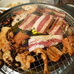 ときわ亭 - カルビや鶏またぎ