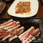 ときわ亭 - スタミナかルビ&豚バラ