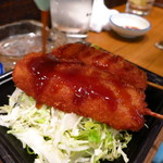 石松 - 串カツ380円
