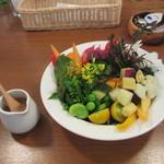 カフェ ビタースイート - 本日のサラダ
