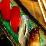 太陽 - 赤身 しめ鯖 とり貝