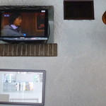 富士美 - 2013.05 座った向かいの壁にTVがあまちゃん放映中でした。じぇじぇじぇ~です♪
