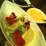19162404 - 前菜のサラダ